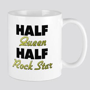 Half Queen Half Rock Star Mugs