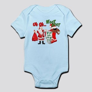 Uh Oh Hump Day Christmas Infant Bodysuit