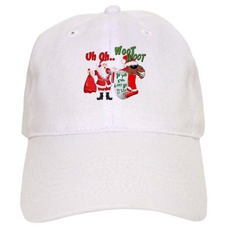 Uh Oh Hump Day Christmas Cap