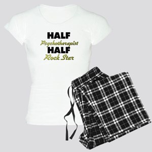 Half Psychotherapist Half Rock Star Pajamas