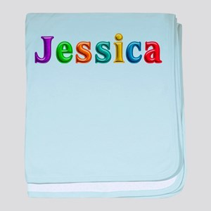 Jessica Shiny Colors baby blanket