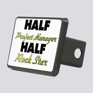 Half Project Manager Half Rock Star Hitch Cover