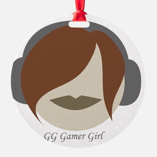 GG Gamer Girl Ornament