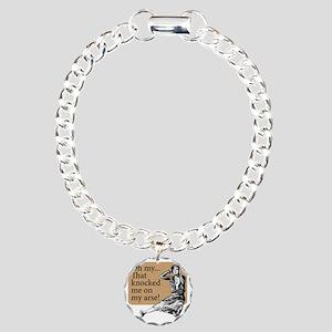 My Arse! - Charm Bracelet, One Charm