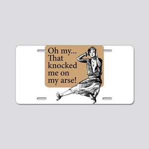 My Arse! - Aluminum License Plate
