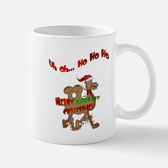 Ho Ho Ho Christmas Hump Day Camel Mug