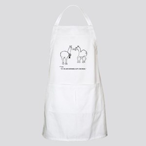Body Over Brains Apron
