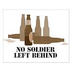 Fallen Soldier/Beer Drinker's Small Poster