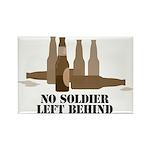 Fallen Soldier/Beer Drinker's Rectangle Magnet (10
