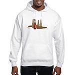 Fallen Soldier/Beer Drinker's Hooded Sweatshirt