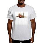 Fallen Soldier/Beer Drinker's Ash Grey T-Shirt