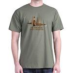 Fallen Soldier/Beer Drinker's Dark T-Shirt
