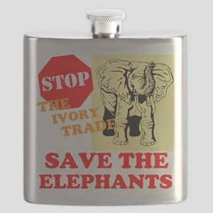 Ivory Trade Flask