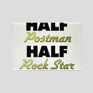 Half Postman Half Rock Star Magnets