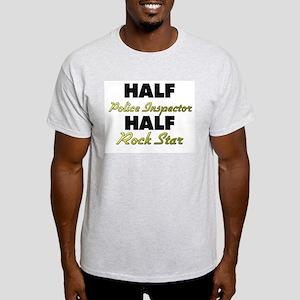 Half Police Inspector Half Rock Star T-Shirt