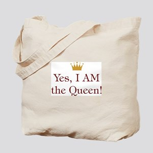 Yes I AM the Queen Tote Bag
