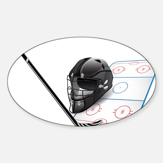 Hockey - Sports Decal