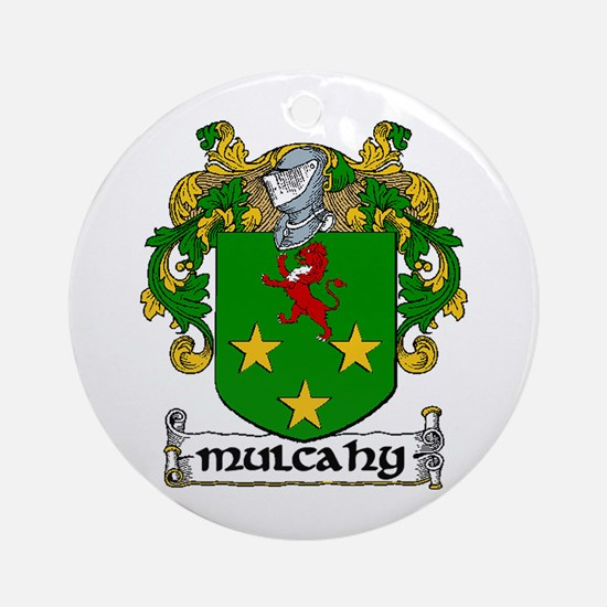 Mulcahy Coat of Arms Ornament (Round)
