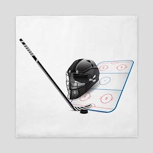 Hockey - Sports Queen Duvet