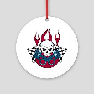 Hotrod - Race - Mechanic Ornament (Round)