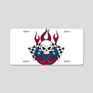Hotrod - Race - Mechanic Aluminum License Plate