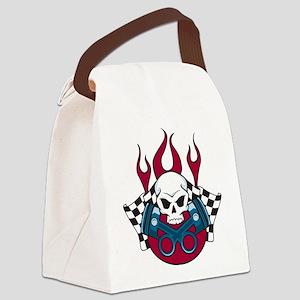Hotrod - Race - Mechanic Canvas Lunch Bag