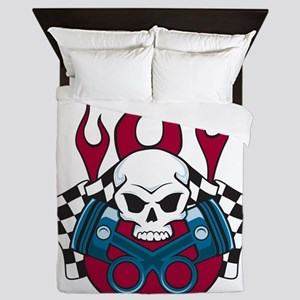 Hotrod - Race - Mechanic Queen Duvet