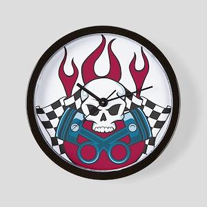 Hotrod - Race - Mechanic Wall Clock