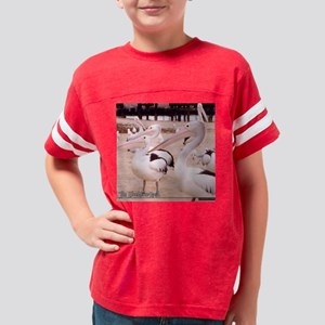 lunchtime-11x11pillow Youth Football Shirt