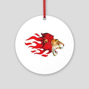 Lion - Big Cat Ornament (Round)