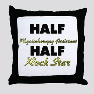 Half Physiotherapy Assistant Half Rock Star Throw