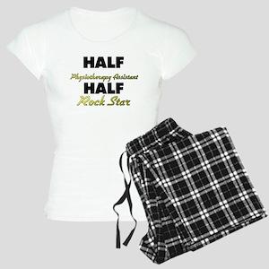 Half Physiotherapy Assistant Half Rock Star Pajama