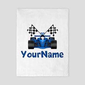Race Car Personalized Twin Duvet