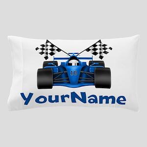 Race Car Personalized Pillow Case