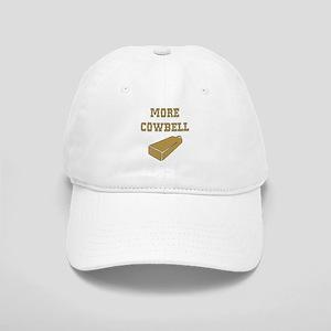 More Cowbell - Funny - Music Baseball Cap