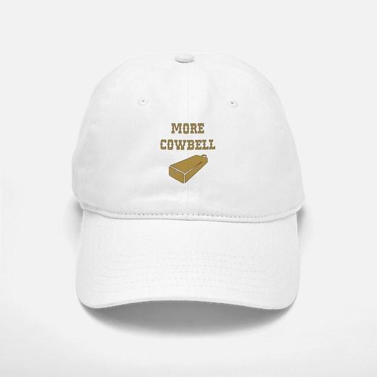More Cowbell - Funny - Music Baseball Baseball Baseball Cap