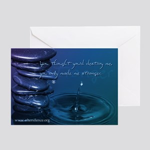 Stronger Greeting Cards (Pk of 10)