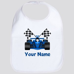 Race Car Personalized Bib