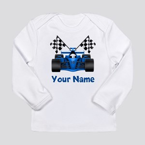 Race Car Personalized Long Sleeve T-Shirt