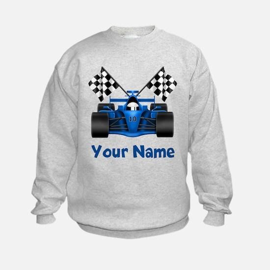 Race Car Personalized Sweatshirt