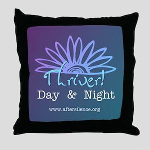 Day & Night Throw Pillow
