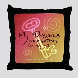 My Dreams Throw Pillow