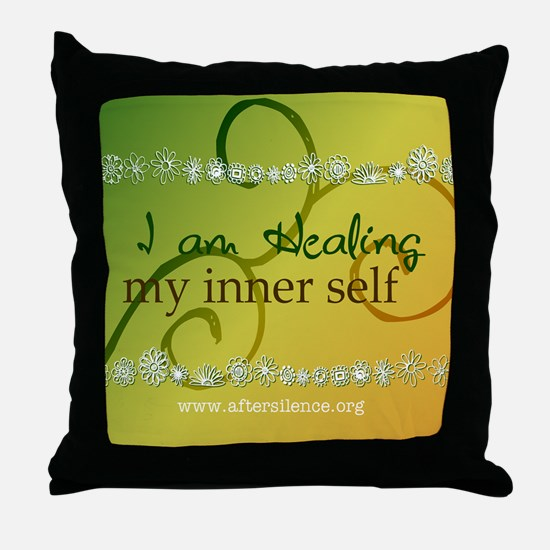 My Inner Self Throw Pillow