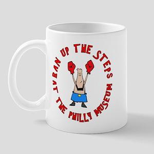 Ran The Steps At Philly Mug