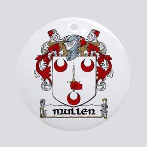Mullen Coat of Arms Ornament (Round)