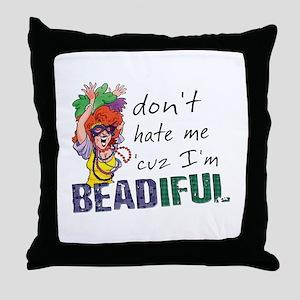 Beadiful Throw Pillow