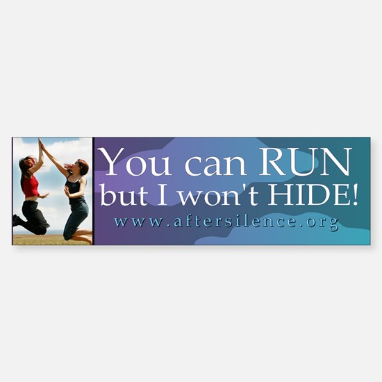 Hide Bumper Bumper Bumper Sticker