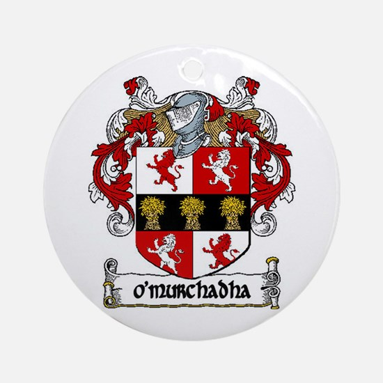 O'Murchadha (Murphy An Gaeilg Ornament (Round)