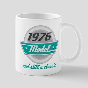 1976 Birthday Vintage Chrome Mug