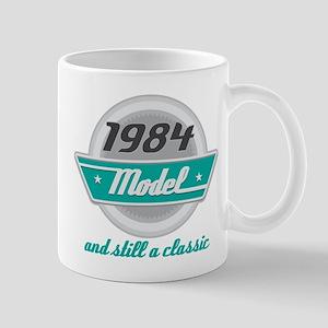 1984 Birthday Vintage Chrome Mug